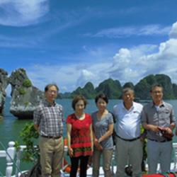 三重支部 ベトナム旅行 集合写真