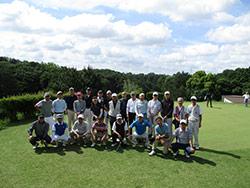 東京支部 S44卒対S46卒学年ゴルフ対抗戦
