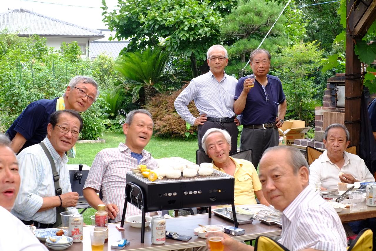 グリークラブ48年ぶりの同窓会
