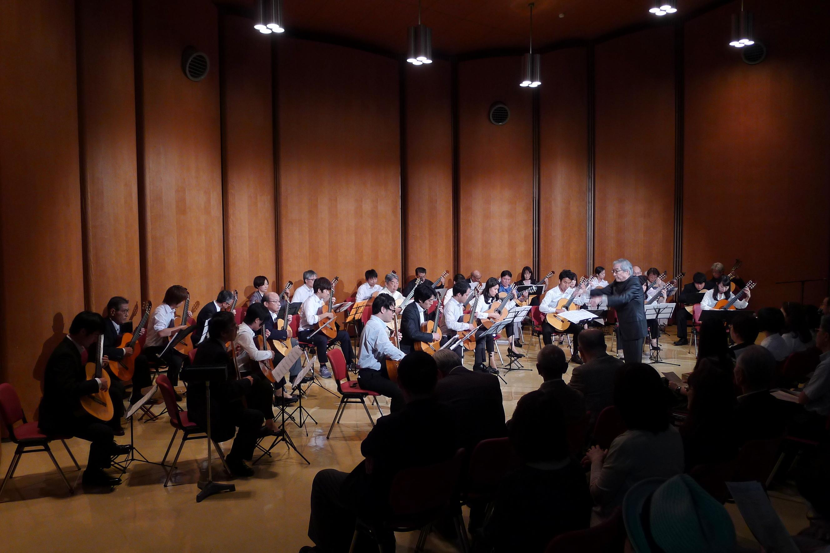 クラシックギタークラブOB会第5回演奏会