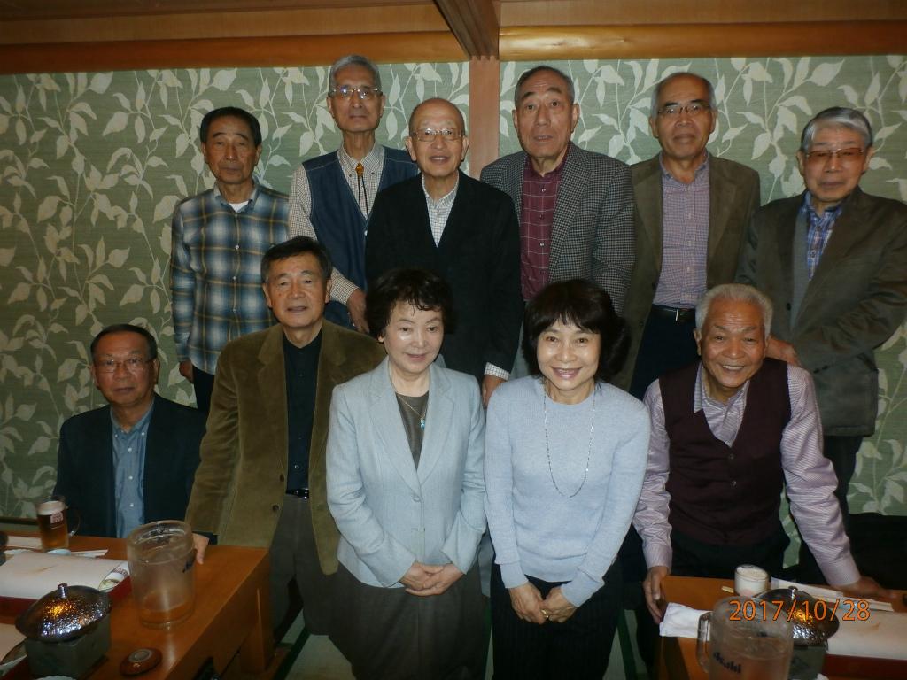 法学部福地ゼミS42年卒同窓会 10月28日開催