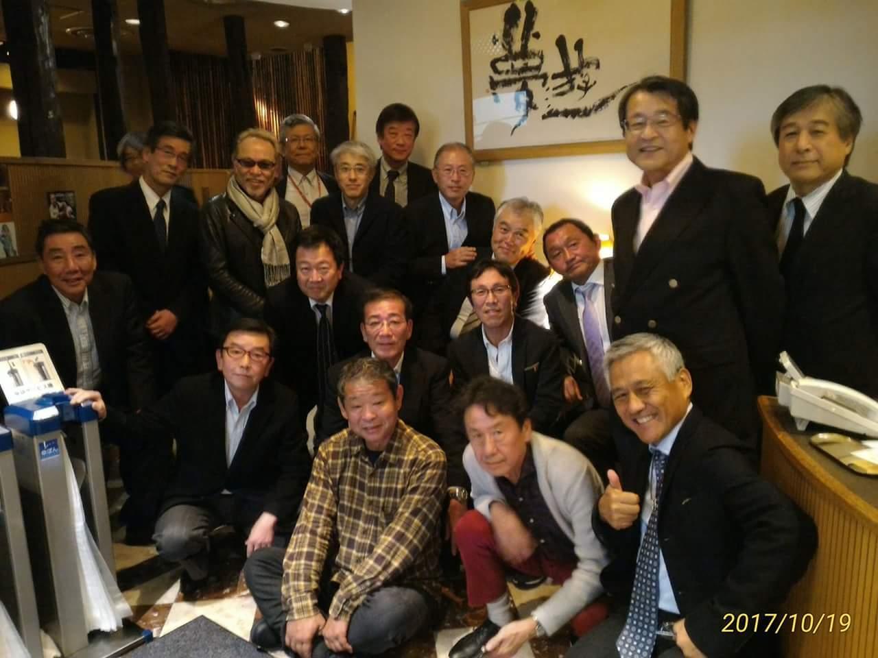昭和45年中学部卒、昭和48年高等部卒 関東地区同級生会
