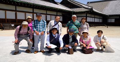 吹田・摂津支部『京都名勝庭園鑑賞と京料理を味わう会』