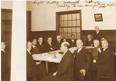 1922(T11)年頃の理事会