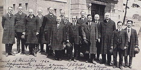 1922(T11)年の理事会メンバー