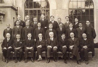旧制大学創設当時の教職員/1934(S9).2.宝塚ホテル
