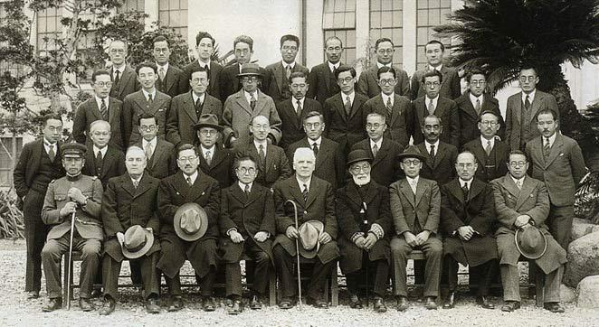 上ヶ原における中学部第1回卒業生/1930(S5).3