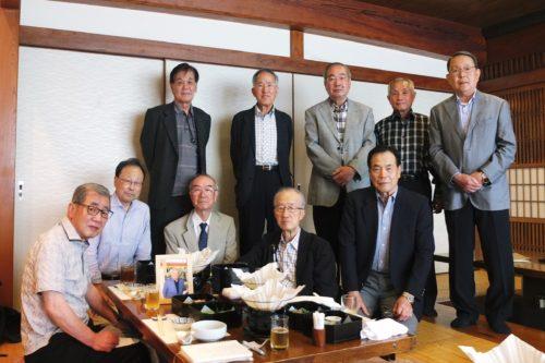 三浦先生を偲ぶ会 昭和四十二年卒商学部三浦ゼミ