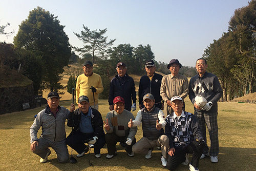 経済学部昭和41年卒ゴルフコンペ