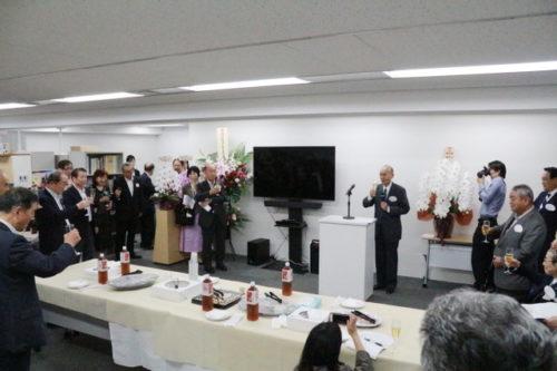 祝・関西学院同窓会本部「銀座オフィス」誕生。