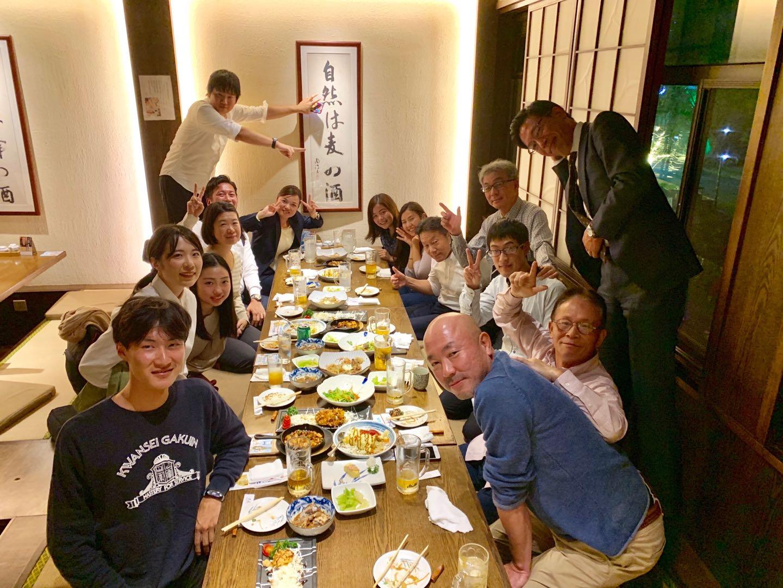上海KG会 留学生歓迎会